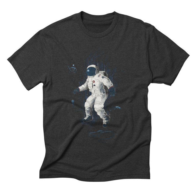 Lost in the abyss of space Men's Triblend T-shirt by oktopussapiens's Artist Shop