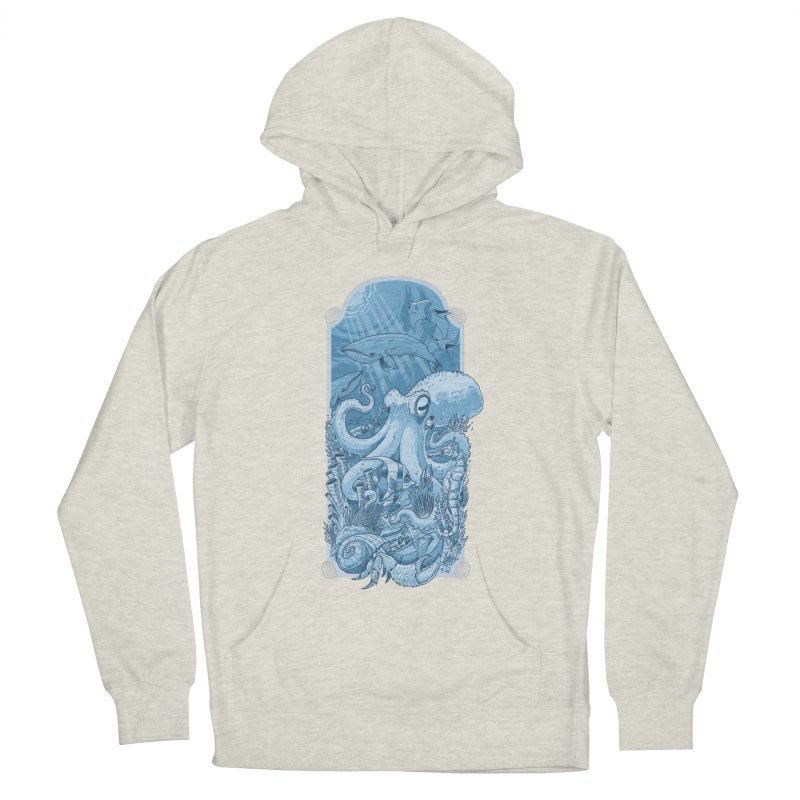 Sea life Women's Pullover Hoody by oktopussapiens's Artist Shop