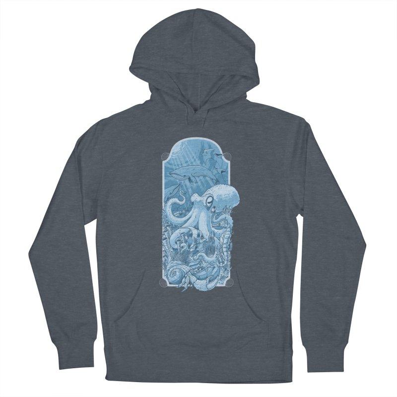 Sea life Men's Pullover Hoody by oktopussapiens's Artist Shop