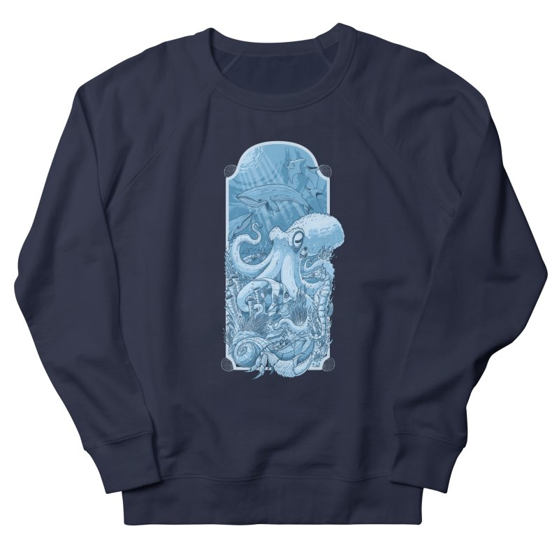 Sea life Women's Sweatshirt by oktopussapiens's Artist Shop