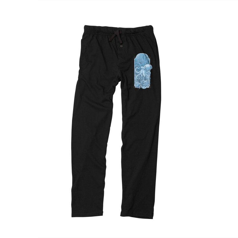 Sea life Men's Lounge Pants by oktopussapiens's Artist Shop