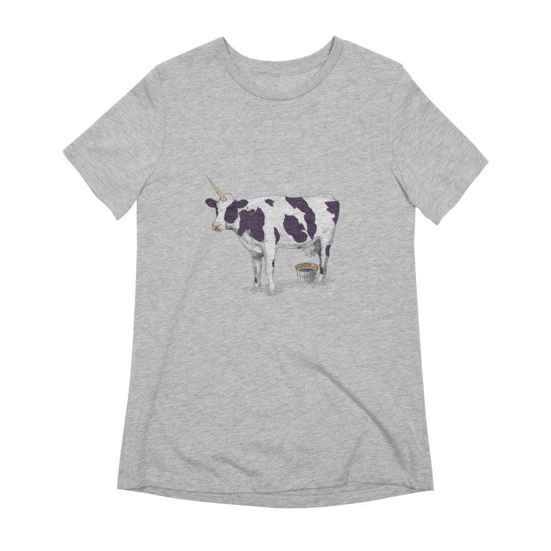 Unicowrn Women's Extra Soft T-Shirt by oktopussapiens's Artist Shop