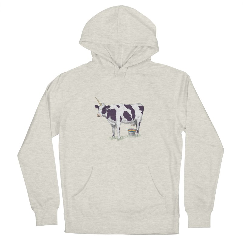 Unicowrn Men's French Terry Pullover Hoody by oktopussapiens's Artist Shop