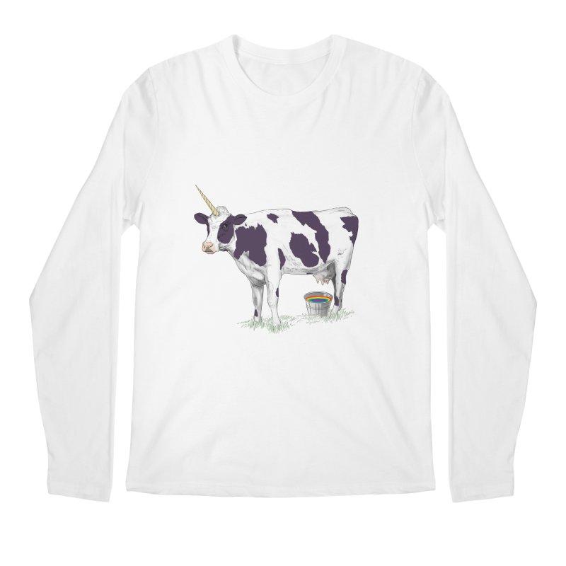 Unicowrn Men's Regular Longsleeve T-Shirt by oktopussapiens's Artist Shop