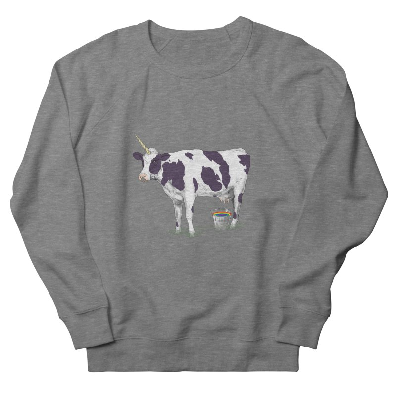 Unicowrn Men's French Terry Sweatshirt by oktopussapiens's Artist Shop