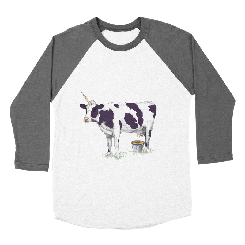 Unicowrn Women's Baseball Triblend Longsleeve T-Shirt by oktopussapiens's Artist Shop