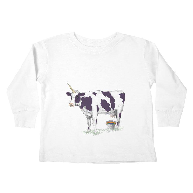 Unicowrn Kids Toddler Longsleeve T-Shirt by oktopussapiens's Artist Shop