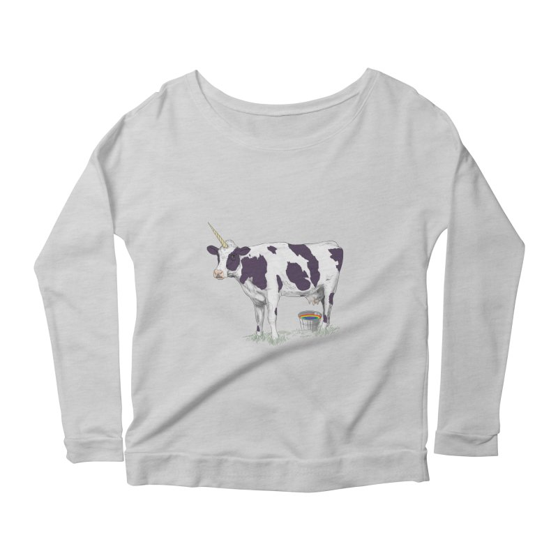 Unicowrn Women's Scoop Neck Longsleeve T-Shirt by oktopussapiens's Artist Shop