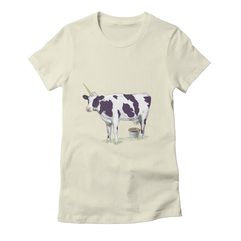 Unicowrn Women's Fitted T-Shirt by oktopussapiens's Artist Shop