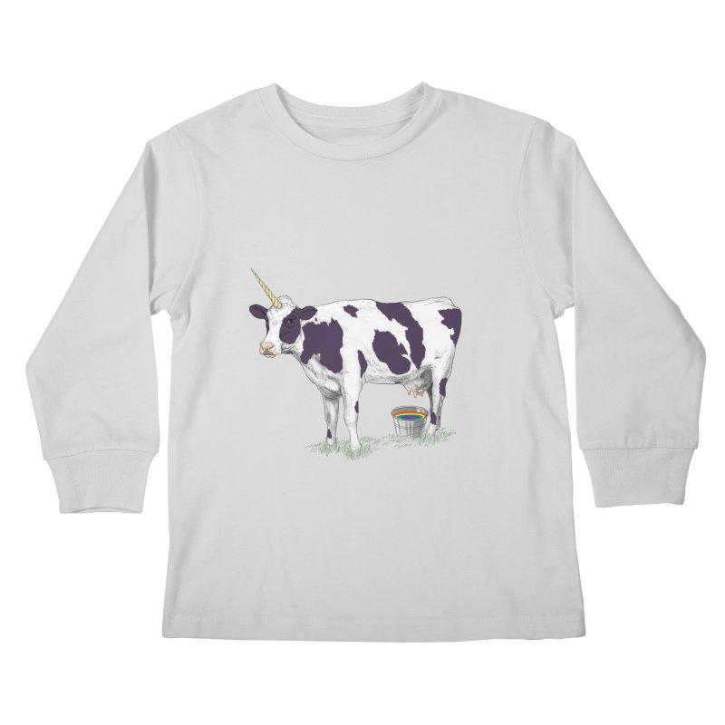 Unicowrn Kids Longsleeve T-Shirt by oktopussapiens's Artist Shop