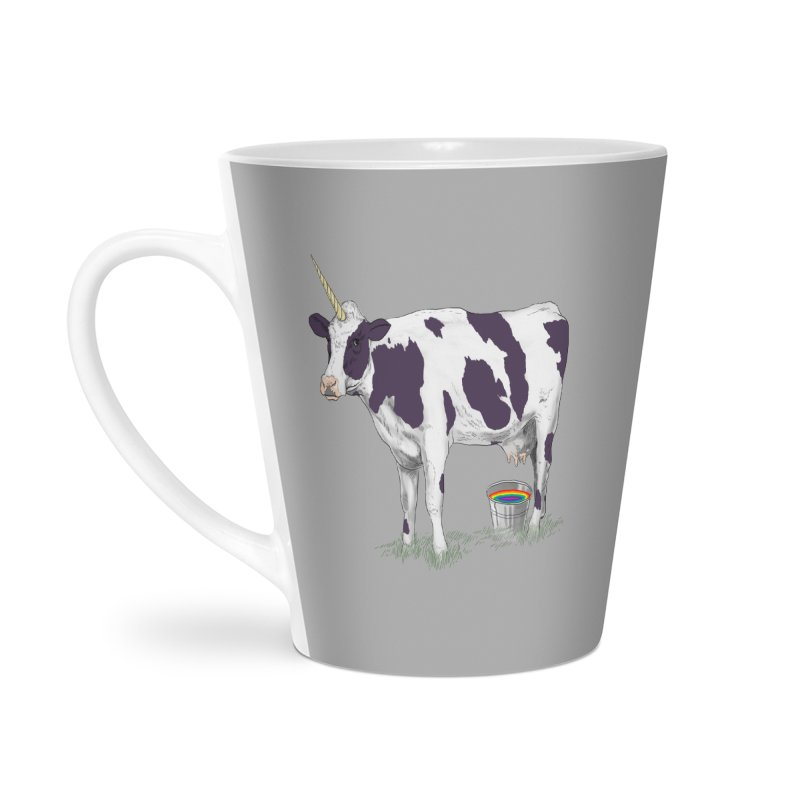 Unicowrn Accessories Latte Mug by oktopussapiens's Artist Shop