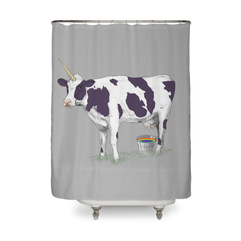 Unicowrn Home Shower Curtain by oktopussapiens's Artist Shop