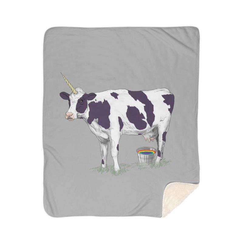 Unicowrn Home Sherpa Blanket Blanket by oktopussapiens's Artist Shop