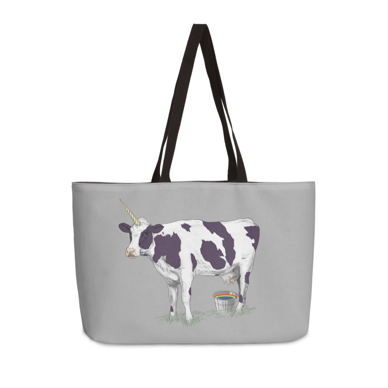 Unicowrn Accessories Weekender Bag Bag by oktopussapiens's Artist Shop