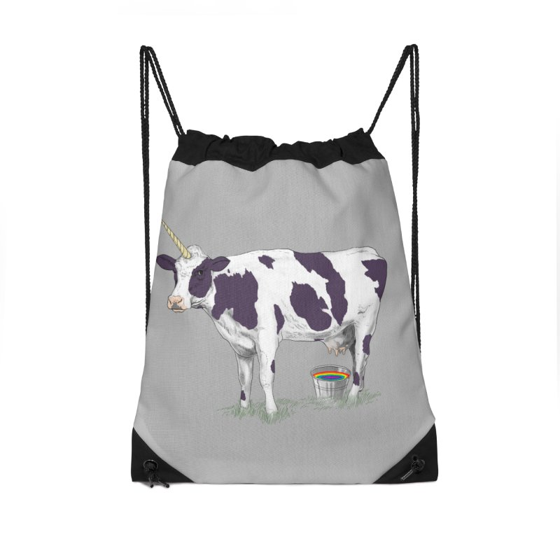 Unicowrn Accessories Drawstring Bag Bag by oktopussapiens's Artist Shop