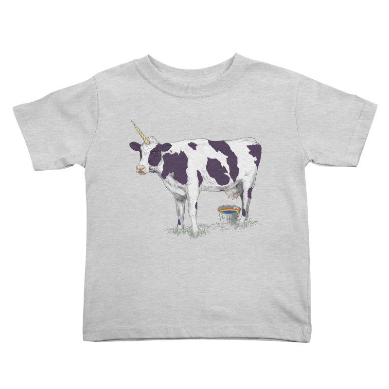 Unicowrn Kids Toddler T-Shirt by oktopussapiens's Artist Shop