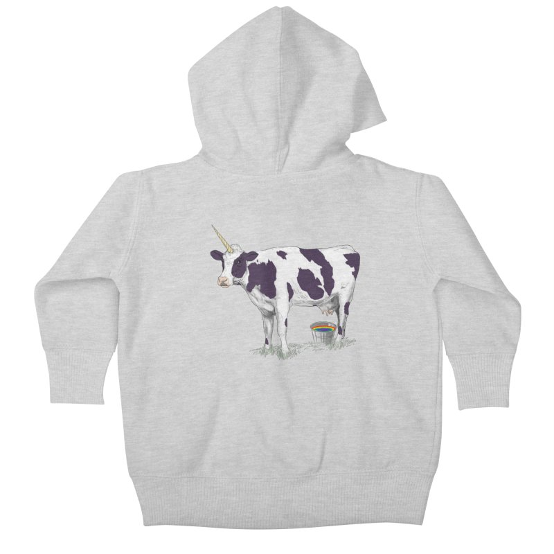 Unicowrn Kids Baby Zip-Up Hoody by oktopussapiens's Artist Shop