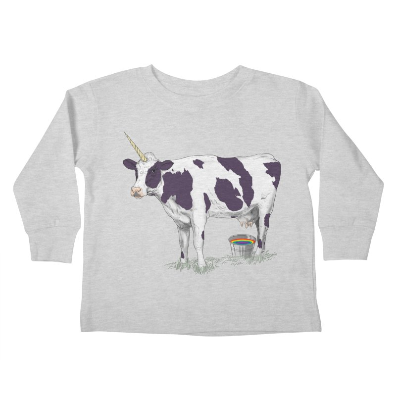 Unicowrn Kids Toddler Longsleeve T-Shirt by oktopussapiens's Artist Shop