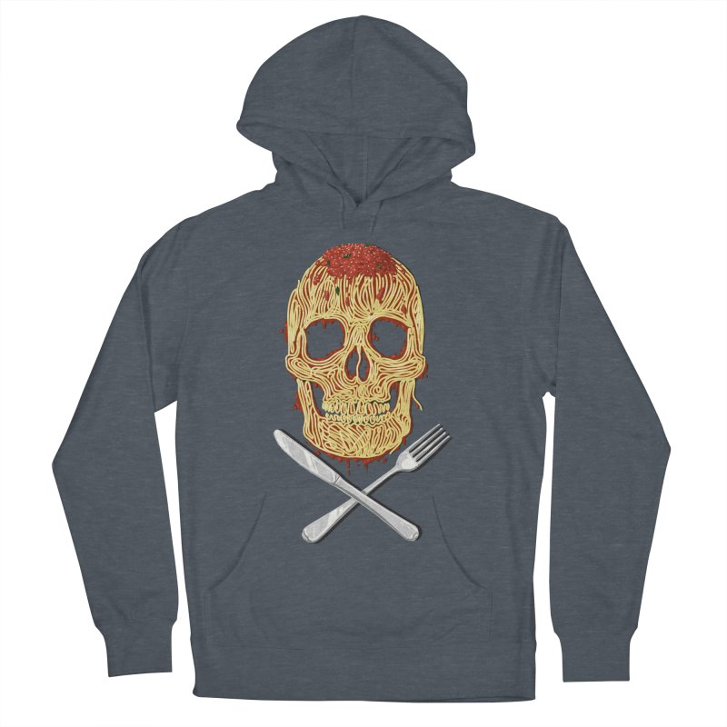Spaghetti skull Women's Pullover Hoody by oktopussapiens's Artist Shop