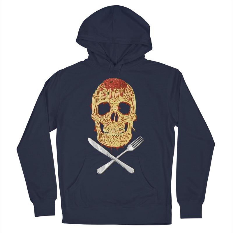 Spaghetti skull Men's Pullover Hoody by oktopussapiens's Artist Shop