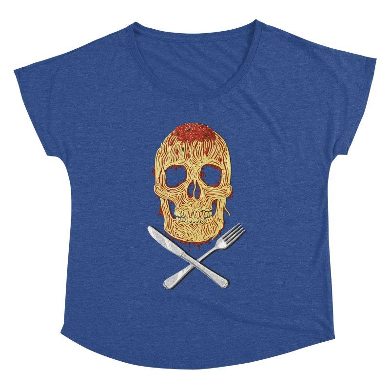 Spaghetti skull Women's Dolman by oktopussapiens's Artist Shop