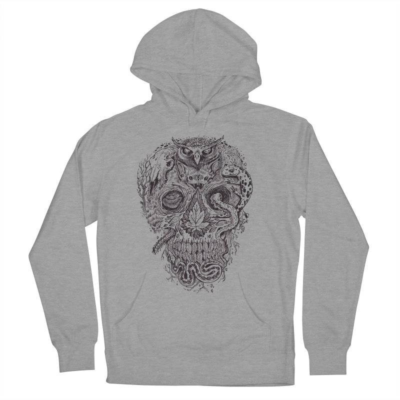 Calvariam naturalis Men's Pullover Hoody by oktopussapiens's Artist Shop