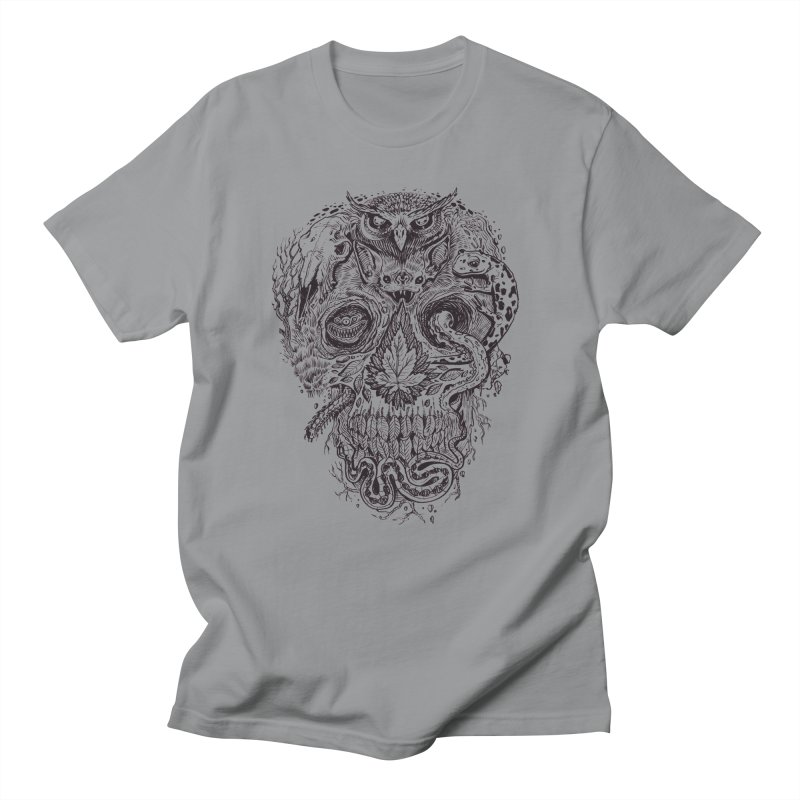 Calvariam naturalis Men's Regular T-Shirt by oktopussapiens's Artist Shop