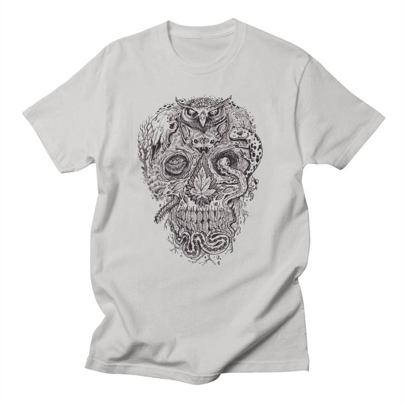 Calvariam naturalis Men's T-Shirt by oktopussapiens's Artist Shop
