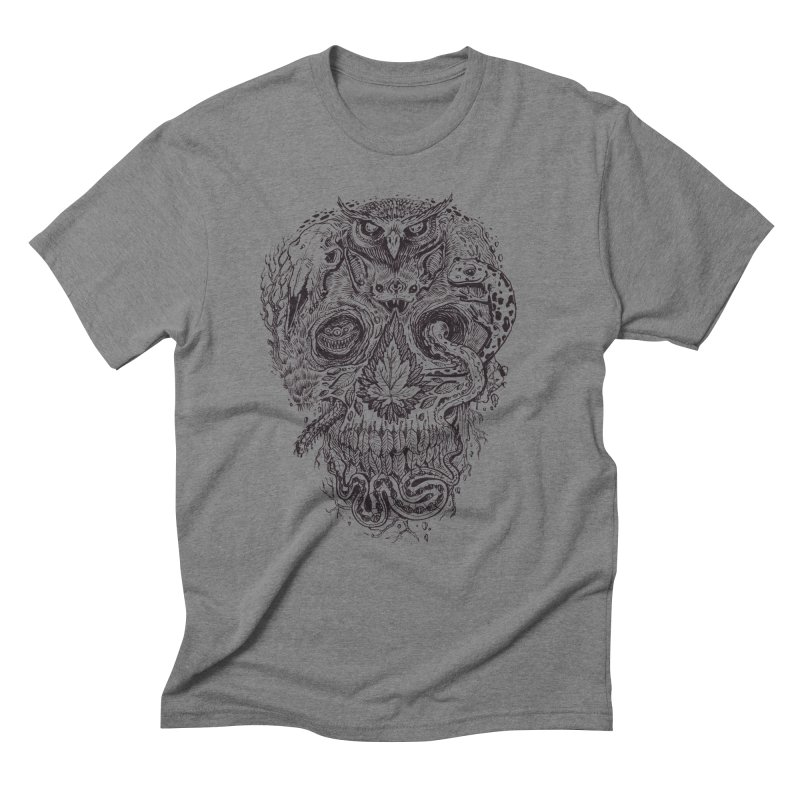 Calvariam naturalis Men's Triblend T-Shirt by oktopussapiens's Artist Shop