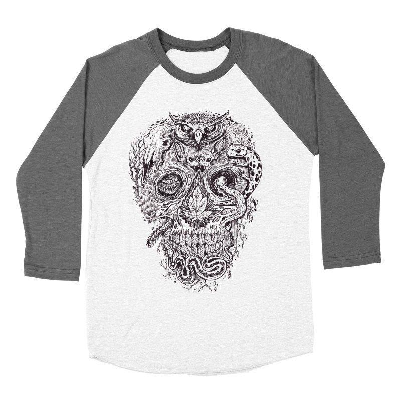Calvariam naturalis Men's Baseball Triblend T-Shirt by oktopussapiens's Artist Shop