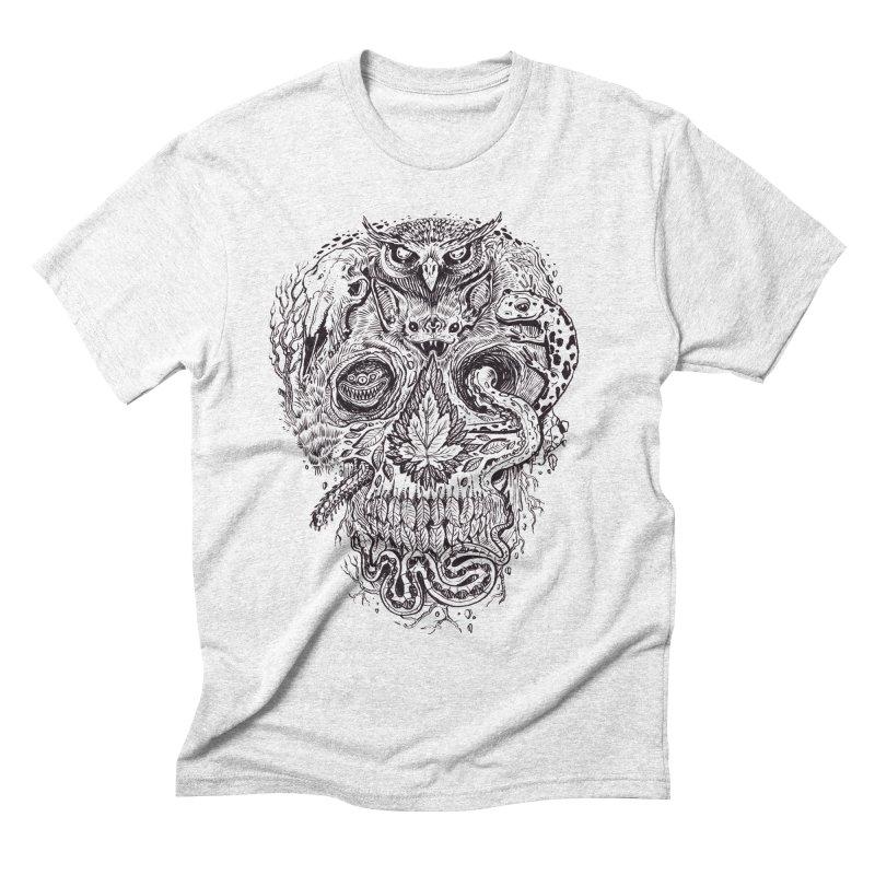 Calvariam naturalis Men's Triblend T-shirt by oktopussapiens's Artist Shop