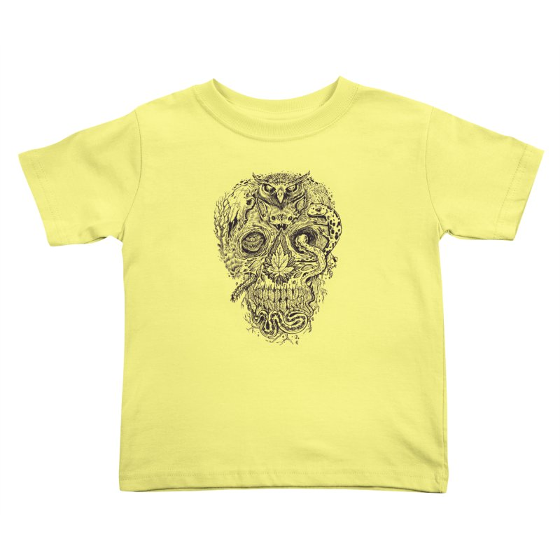 Calvariam naturalis Kids Toddler T-Shirt by oktopussapiens's Artist Shop