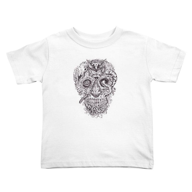 Calvariam naturalis Kids Toddler T-Shirt by oktopussapiens's Artist Shop