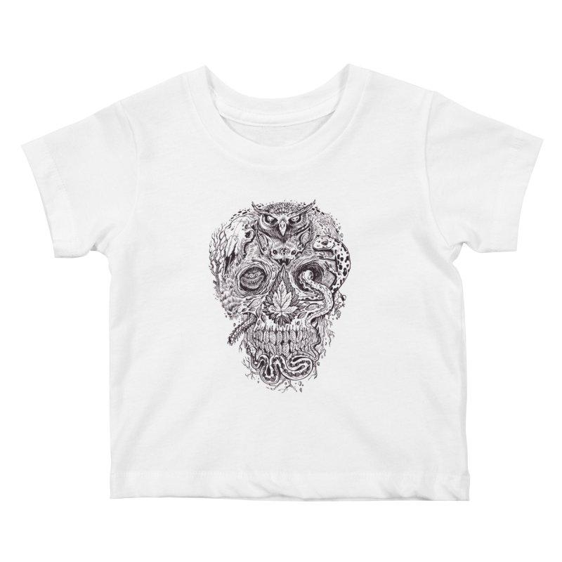 Calvariam naturalis Kids Baby T-Shirt by oktopussapiens's Artist Shop