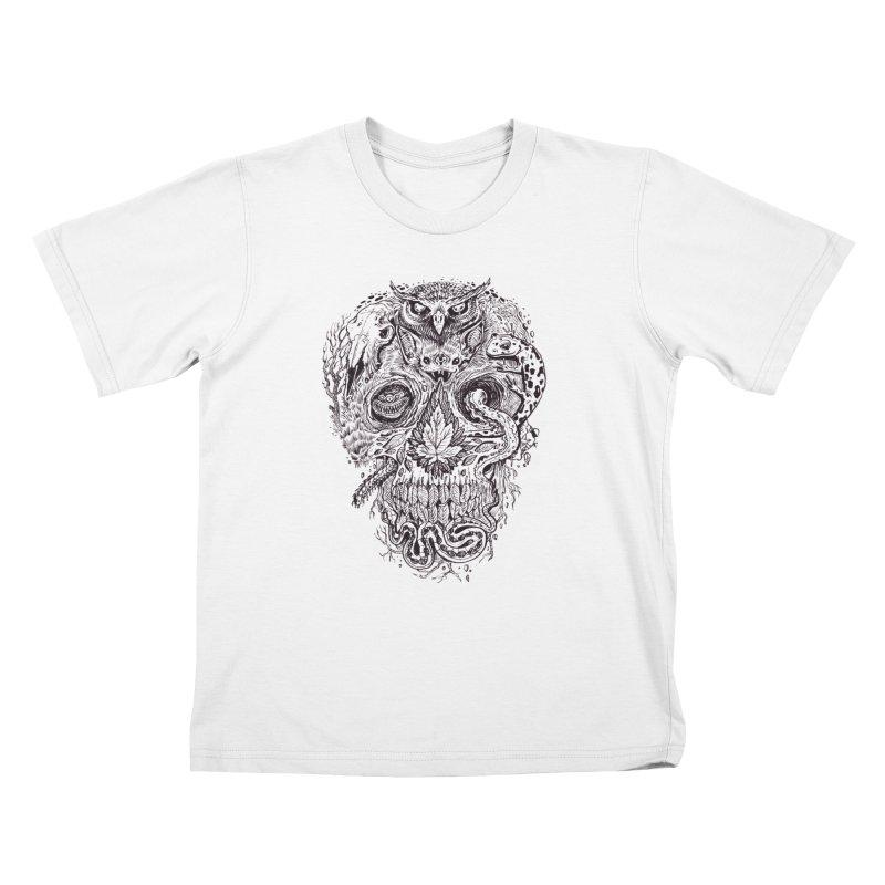 Calvariam naturalis Kids T-Shirt by oktopussapiens's Artist Shop