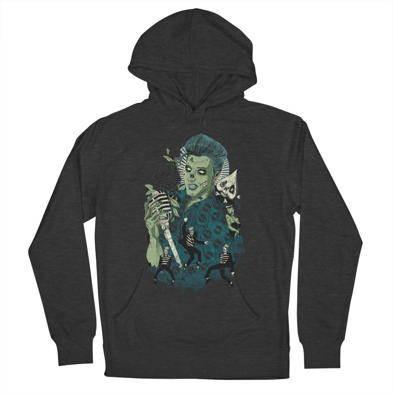 The king is back Women's Pullover Hoody by oktopussapiens's Artist Shop