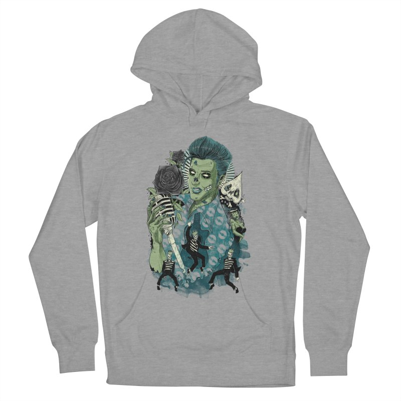 The king is back Men's Pullover Hoody by oktopussapiens's Artist Shop