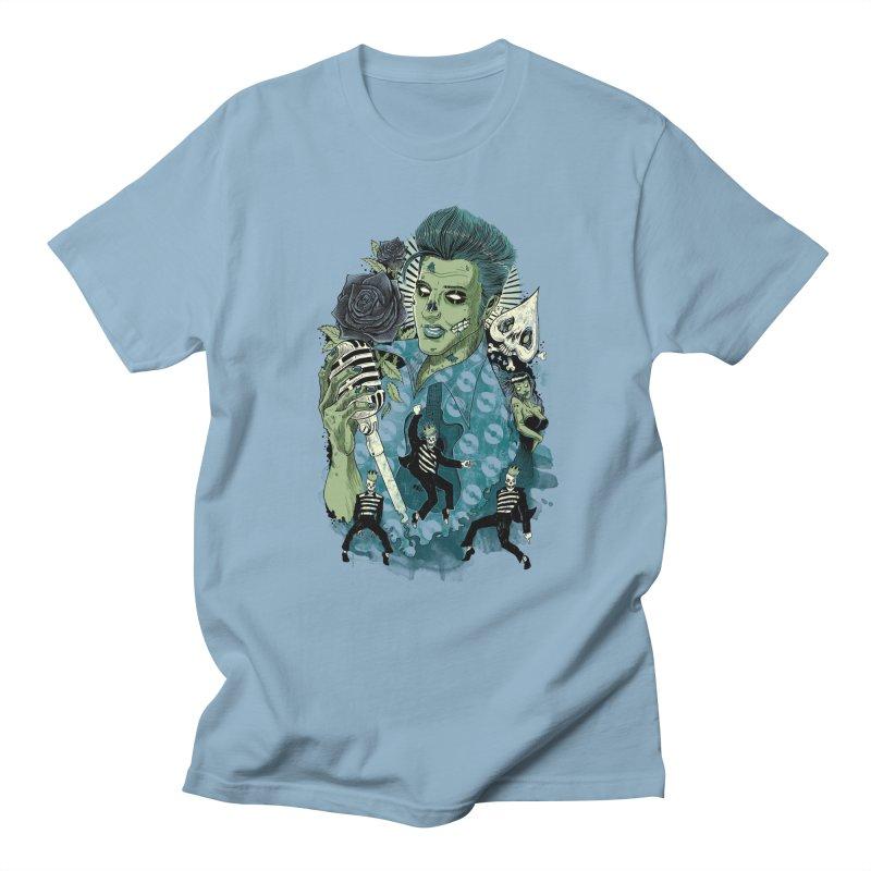 The king is back Men's T-Shirt by oktopussapiens's Artist Shop