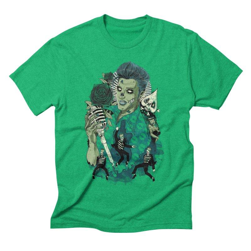 The king is back Men's Triblend T-shirt by oktopussapiens's Artist Shop