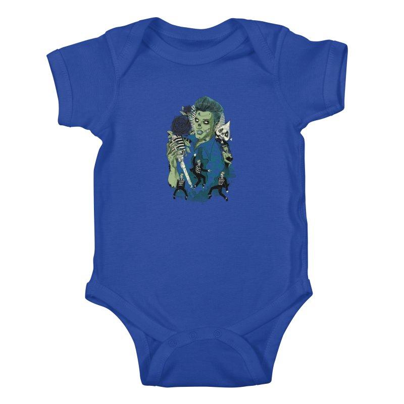 The king is back Kids Baby Bodysuit by oktopussapiens's Artist Shop