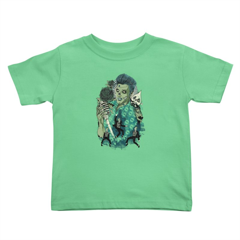 The king is back Kids Toddler T-Shirt by oktopussapiens's Artist Shop