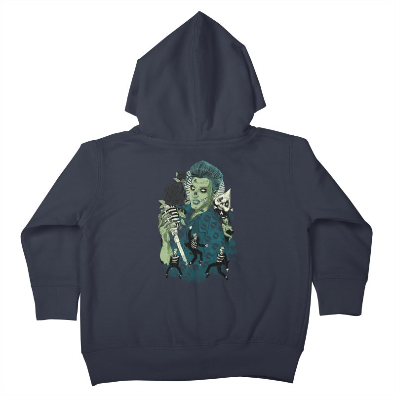 The king is back Kids Toddler Zip-Up Hoody by oktopussapiens's Artist Shop