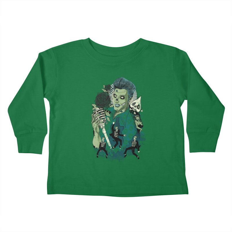 The king is back Kids Toddler Longsleeve T-Shirt by oktopussapiens's Artist Shop