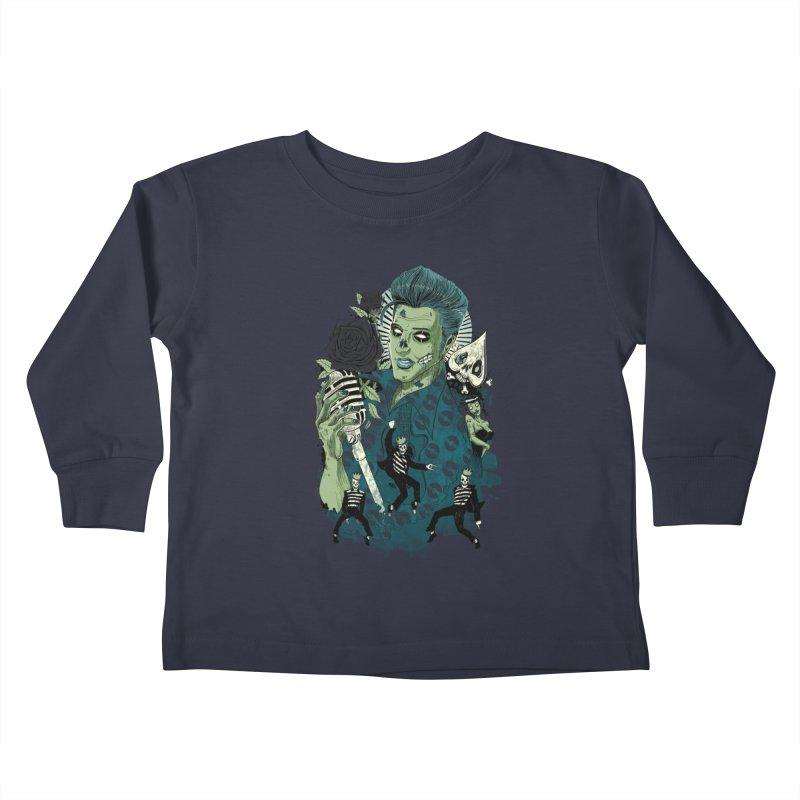 The king is back Kids Toddler Longsleeve T-Shirt by oktopussapiens's Artist Shop