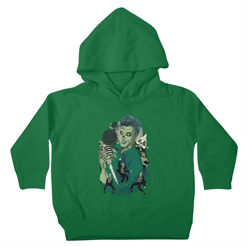 The king is back Kids Toddler Pullover Hoody by oktopussapiens's Artist Shop