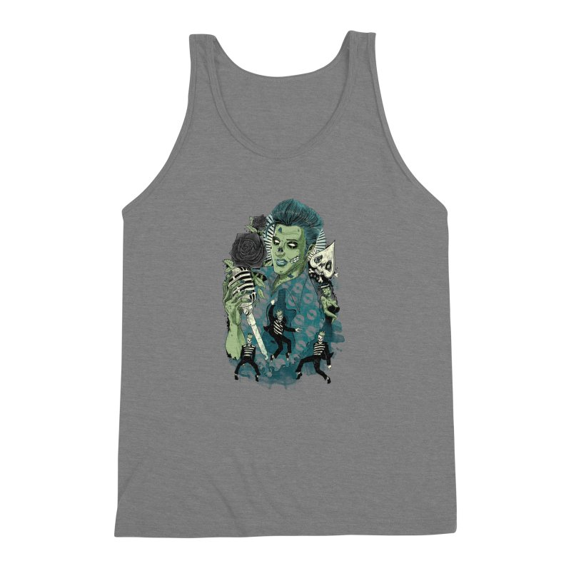 The king is back Men's Triblend Tank by oktopussapiens's Artist Shop