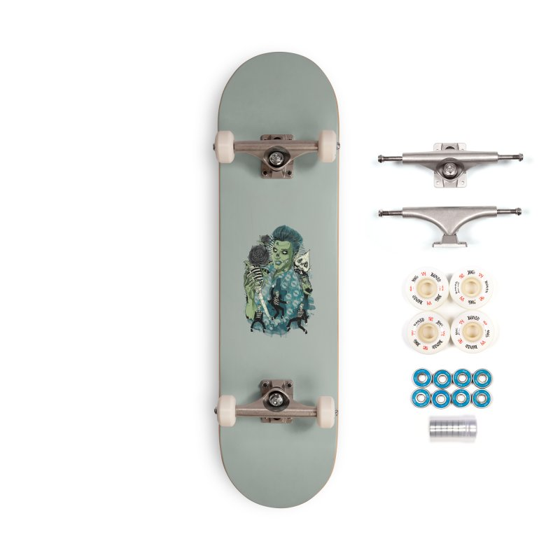 The king is back Accessories Complete - Premium Skateboard by oktopussapiens's Artist Shop
