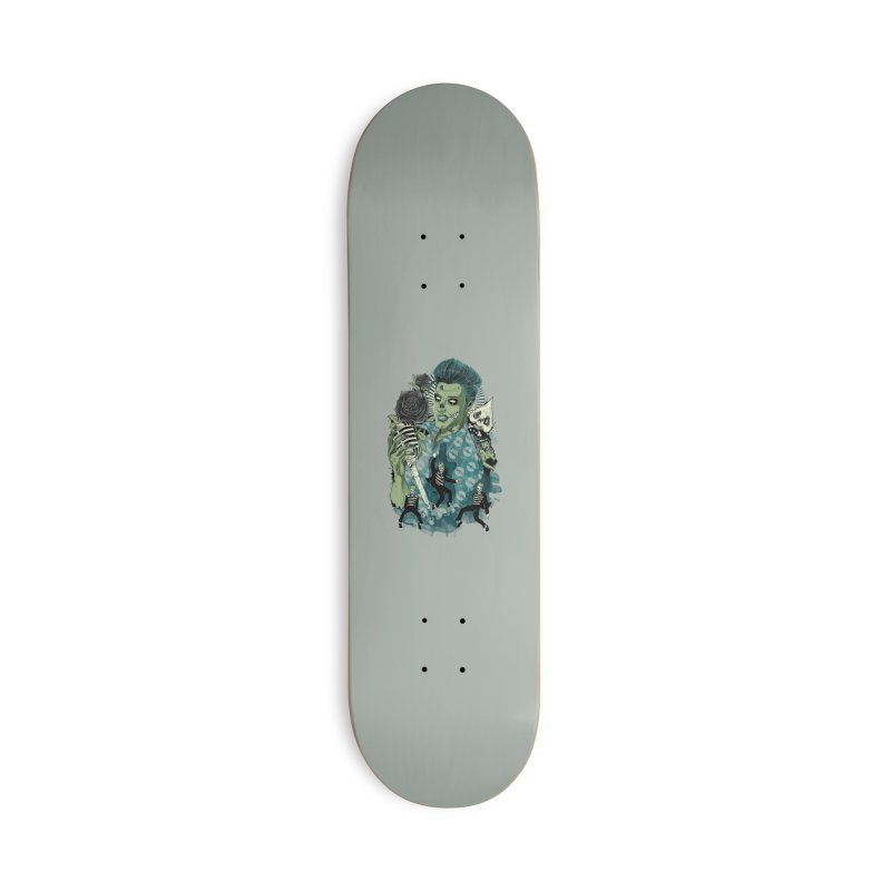 The king is back Accessories Deck Only Skateboard by oktopussapiens's Artist Shop