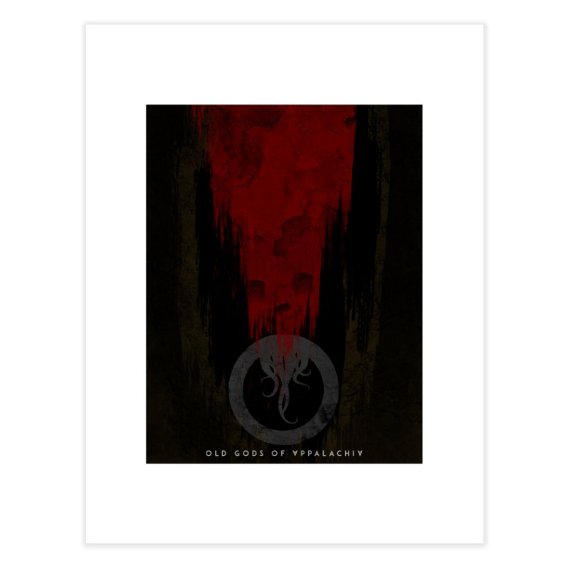 Old Gods of Appalachia: Blood and Darkness Home Fine Art Print by OLD GODS OF APPALACHIA