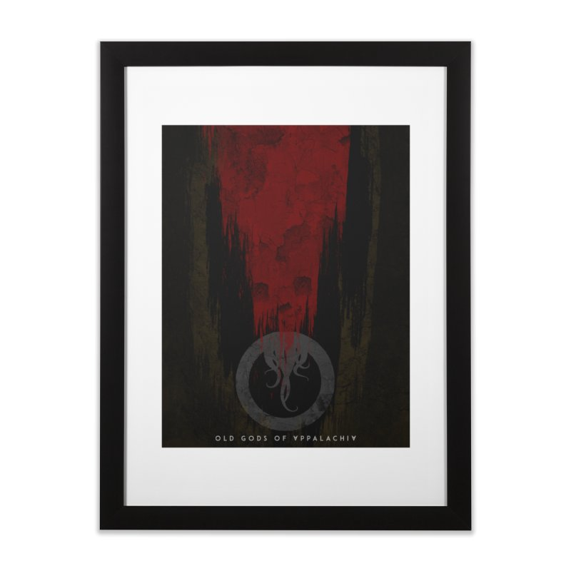Old Gods of Appalachia: Blood and Darkness Home Framed Fine Art Print by OLD GODS OF APPALACHIA